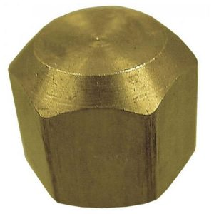 Brass Fitting - Cap