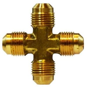 Brass Fitting - Cross