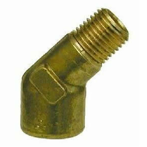 Forged Brass 45° Street Elbow - Brass Fittings - Elbow