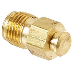 Brass Fitting - Inverted Flare Plug